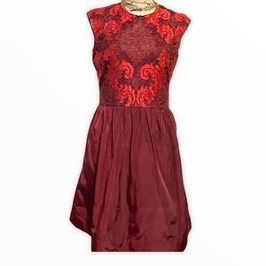 Taylor Embroidered cocktail dress